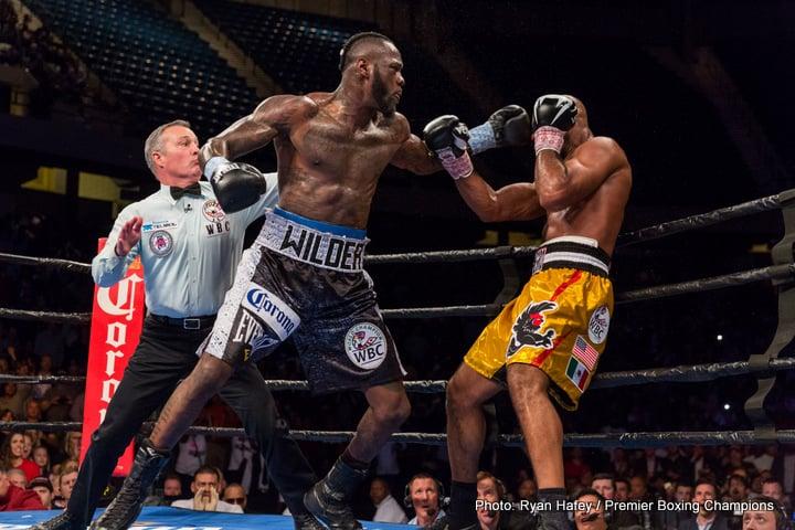 Bermane Stiverne Deontay Wilder Luis Ortiz Boxing News