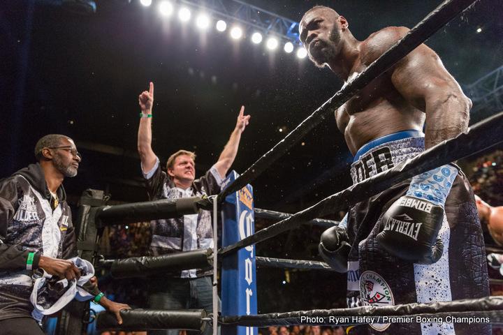 Deontay Wilder Joseph Parker Boxing News