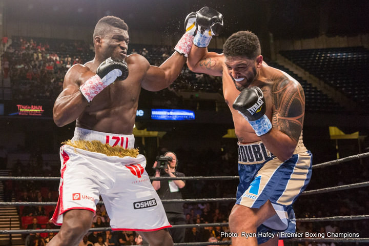 Dominic Breazeale faces Eric Molina on Nov.4