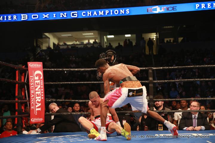 Luis Cruz Raushee Warren Robert Easter Jr. Zhanat Zhakiyanov Boxing News Boxing Results