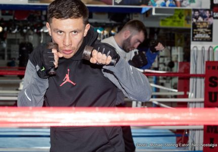 Gennady Golovkin Training Camp Photos