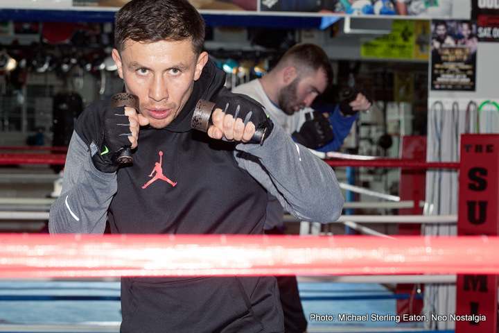Andy Lee Daniel Jacobs Gennady Golovkin KeAndrae Leatherwood Boxing News