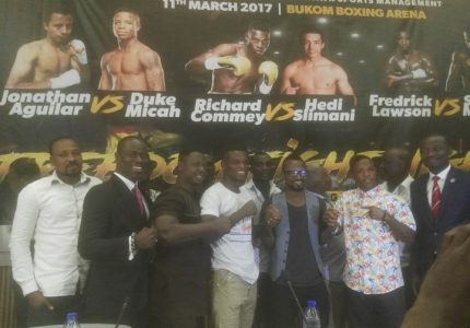 Commey, Lawson and Micah return on 'Freedom Fight Night' in Accra March 11