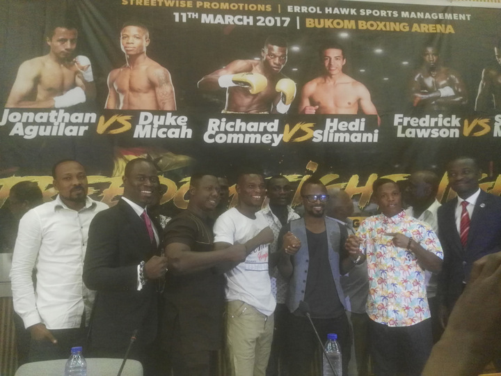 Fredrick Lawson - Former IBF Lightweight world title challenger, Richard Oblitey Commey (24-2, 22 KOs) makes a return to ring action on March 11 when he faces Belgium based Tunisian,  Hedi Slimani (26-2, 14 KOs) in a WBC international lightweight championship in Accra on March 11.