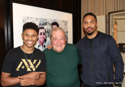 Arum's Top Rank signs up Shakur Stevenson, pro debut planned for April