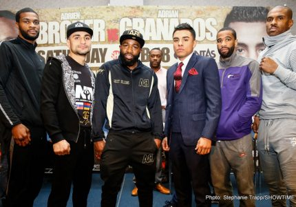 Adrien Broner vs Granados Live On BoxNation