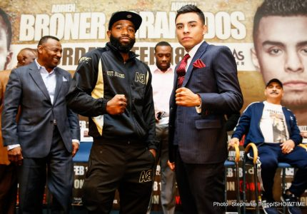 Broner vs. Granados: Where Art Thou Adrien?