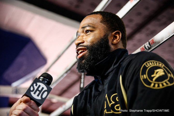 """Adrien Broner, Amir Khan - Just last week, Amir Khan put out a tantalising tweet in which he wrote how he has a """"big announcement"""" that he will make in the coming days. As soon as fight fans read the message, speculation was rife on what the former 140 pound champion's announcement might be."""