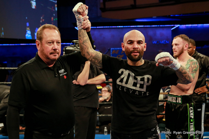 "Levan Ghvamichava, Luis Collazo, Sammy Vasquez, Yordenis Ugas - Former world champion Luis Collazo (37-7, 20 KOs) delivered an early ""Knockout of the Year"" candidate with a sixth-round knockout of welterweight contender Sammy Vasquez Jr. (21-2, 15 KOs) Thursday night in the main event of Premier Boxing Champions on FS1 and FOX Deportes from Horseshoe Tunica Hotel & Casino in Tunica, Mississippi."