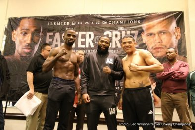 Adrien Broner Luis Cruz Raushee Warren Robert Easter Jr. Press Room