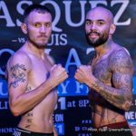 Sammy Vasquez - This Thursday night the PBC on FS1 presents a fight card with depth beyond the main event between once beaten Sammy Vasquez and gate keeper Luis Collazo. It's not as though the top of the bill isn't important to each man's career but you could make an argument the undercard has just as much on the line. Yordenis Ugas takes on Levan 'The Wolfman' Ghvamichava, a very fitting nickname when you see this guy's body hair, in a scrap that is crucial at this stage for both. Also, in what I believe to be the opener, Ryan Karl meets Eddie Ramirez in a battle unbeaten junior welterweights.