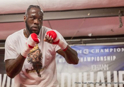 "Deontay Wilder says he wants to see stiffer penalties introduced for drugs cheats before they ""ruin the sport of boxing"""