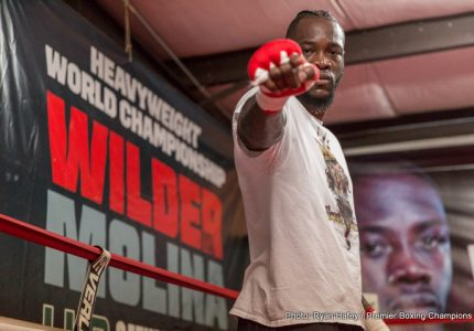 Deontay Wilder on future fight with Joshua: we're talking an Ali-Frazier type of thing