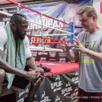 """Deontay Wilder - WBC heavyweight ruler Deontay Wilder makes his return to action this Saturday night. Wilder, who has been inactive since busting his hand and tearing his biceps on the hard noggin of Chris Arreola in July, faces an interesting, possibly dangerous challenger in the form of the unbeaten and physically imposing Gerald Washington, but bigger fights await """"The Bronze Bomber,"""" much bigger fights."""