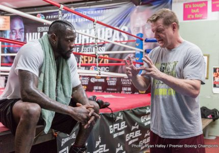 Wilder's trainer Jay Deas: this is the year