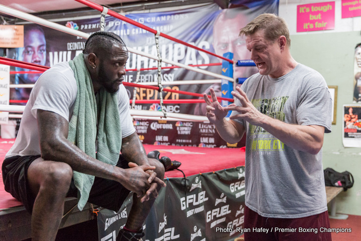Tony Harrison - The show will be PBC on FOX and FOX Deportes, the main event -- the Heavyweight Championship of the World -- the WBC Heavyweight Championship between Deontay Wilder and Gerald Washington.