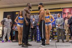 Deontay Wilder, Gerald Washington - Weigh-In Results: