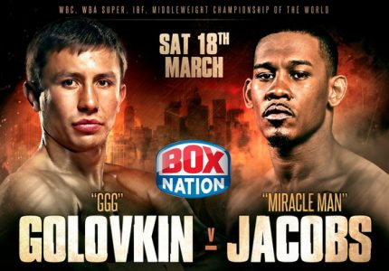 Golovkin, Jacobs Lands Exclusively Live On Boxnation