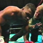 """Buster Douglas - 27 years ago today it happened: Mike Tyson, the """"unbeatable"""" heavyweight king, was sensationally beaten up, defeated and knocked out in what still ranks as the biggest sporting upset in history. Whopping great 42-1 underdog James """"Buster"""" Douglas pulled off the almighty stunner; a shock so great it commanded front page status on just about every newspaper on the planet the following day."""