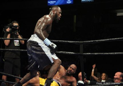 Wilder KOs Washington in the Fifth Round, Retains his WBC Title