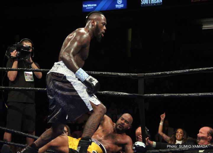 Deontay Wilder Gerald Washington Boxing News Boxing Results