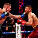 Abel Ramos - Undefeated super lightweight powerhouse Ivan Baranchyk and a game Abel Ramos brawled in an absolute slugfest that featured three knockdowns in the main event of ShoBox: The New Generation Friday on SHOWTIME, with local favorite Baranchyk winning a 10-round unanimous decision at Buffalo Run Casino & Resort.