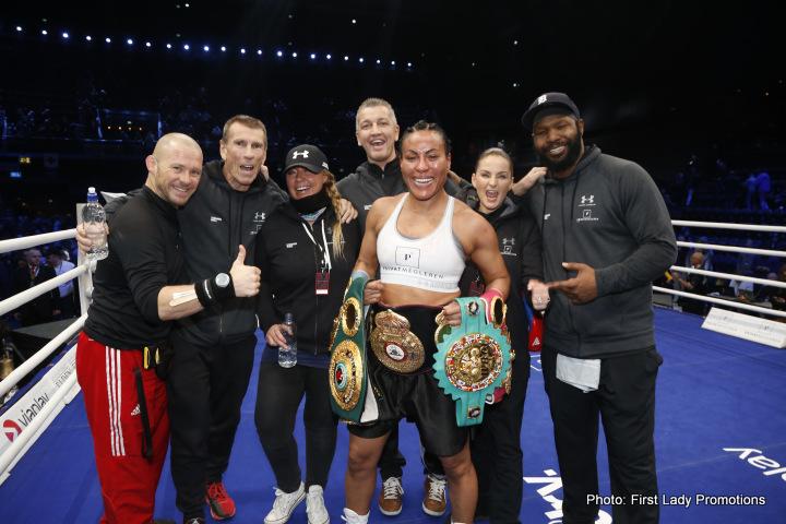 Cecilia Braekhus Klara Svensson Boxing News Boxing Results