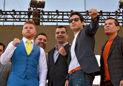 Canelo-Chavez Jr. Mexico City press tour quotes