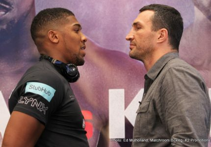 "Lamon Brewster gives his take on the Joshua-Klitschko fight: ""I don't see anyone beating Joshua"""
