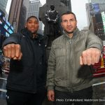 "Anthony Joshua - The latest instalment of the popular ""The Gloves Are Off"" show aired on Sky Sports last night, and heavyweights Anthony Joshua and Wladimir Klitschko sat across one another as Johnny Nelson peppered them with questions regarding their fast-approaching Wembley showdown."