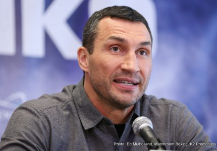 "Wladimir Klitschko says Joshua fight is ""toughest challenge I have ever had"""