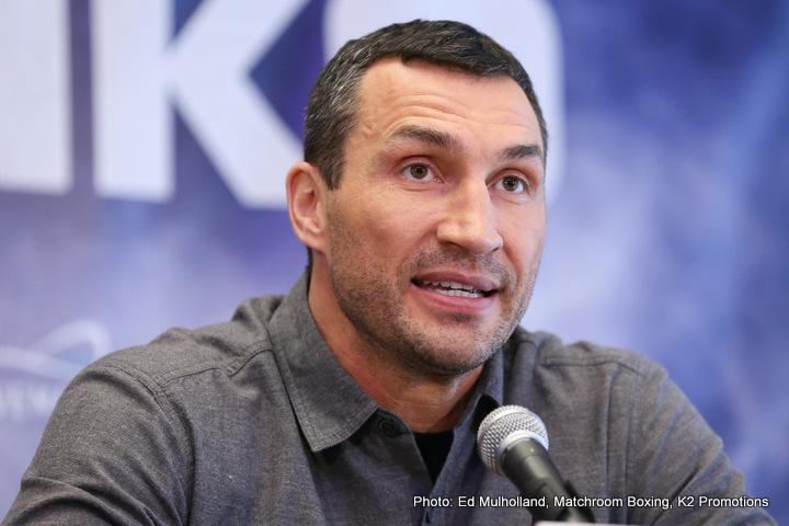 Anthony Joshua vs Wladimir Klitschko NYC Press Conference