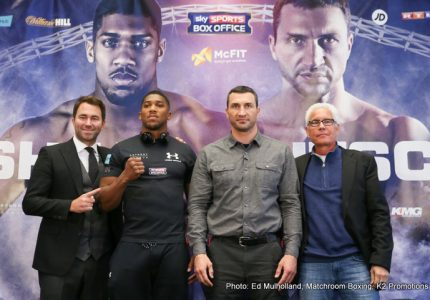 Anthony Joshua says he'll knock Wladimir Klitschko out