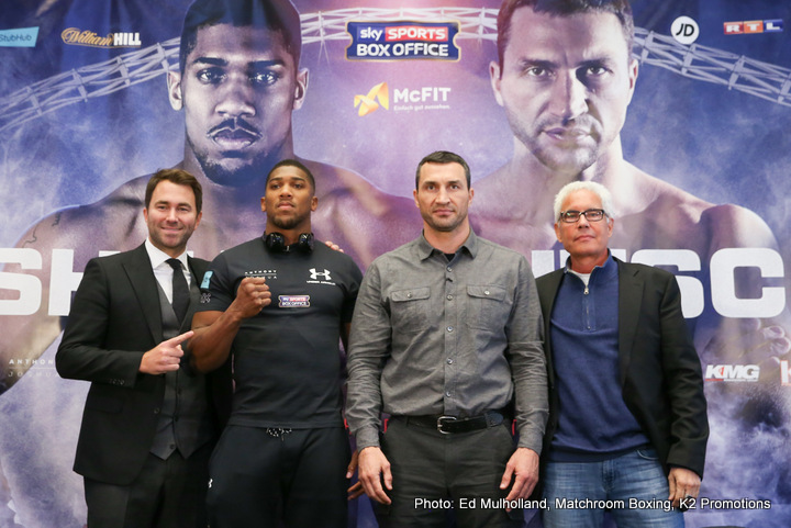 Anthony Joshua, Wladimir Klitschko - Boxing News