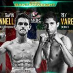 Gavin McDonnell - Using his hand speed and punching power advantage, #1 WBC 122lb contender Ray Vargas (29-0, 22 KOs) boxed his way to a 12 round majority decision tonight over #2 WBC Gavin McDonnell (16-1-2, 4 Kos) to win the vacant WBC super bantamweight title at the Hull Ice Arena in Hull, England. It was a nice effort from both fighters. McDonnell came up short based on the speed and pinpoint accuracy of the 26-year-old Mexican Vargas.