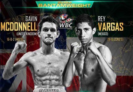 Results: Rey Vargas decisions Gavin McDonnell