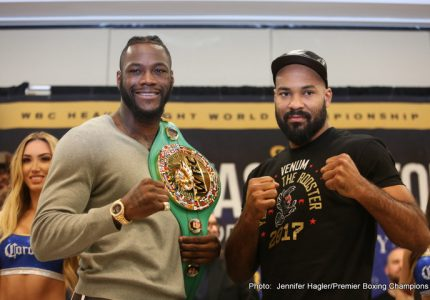 Jerry Izenberg on Heavyweight Champion Deontay Wilder