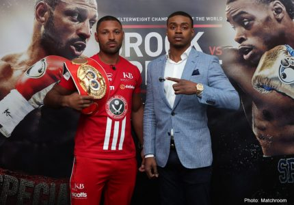 Errol Spence ready to beat Brook on Saturday at Bramall Lane
