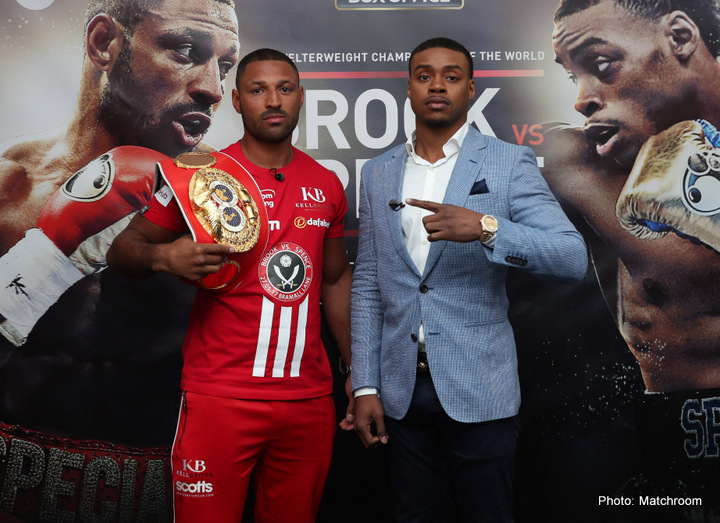 Errol Spence Jr. Kell Brook Boxing News Top Stories Boxing