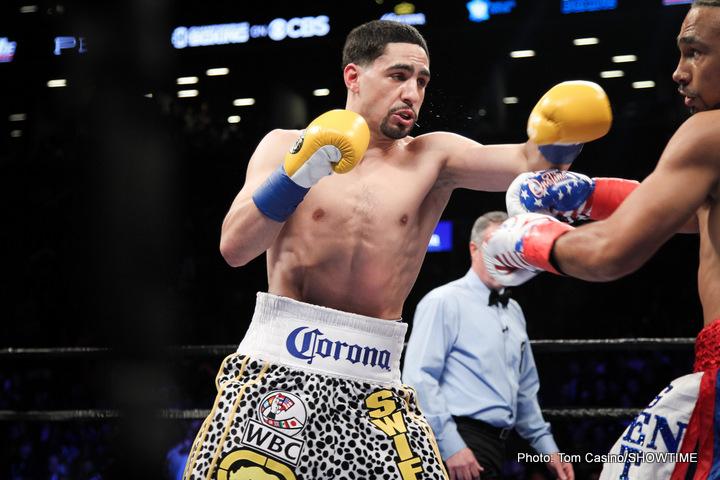 Angel Garcia Danny Garcia Keith Thurman Boxing News