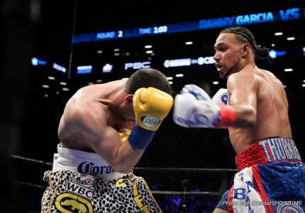 Keith Thurman vs. Danny Garcia ratings stats on CBS