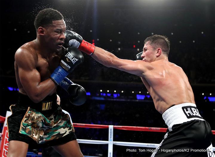 Daniel Jacobs Gennady Golovkin Boxing News