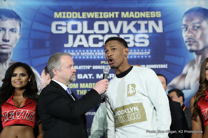 Daniel Jacobs Boxing News Top Stories Boxing