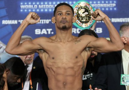 Danny Jacobs a no-show at IBF same-day weigh-in this morning; cannot win IBF belt tonight