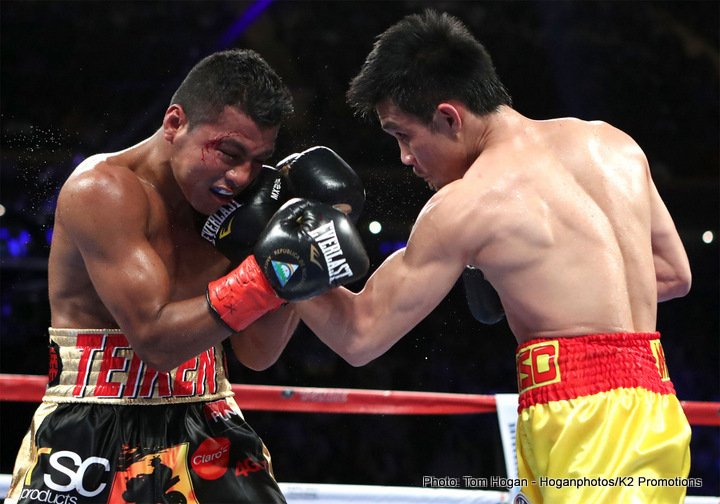 Srisaket Sor Rungvisai faces Juan Francisco Estrada on 2/24