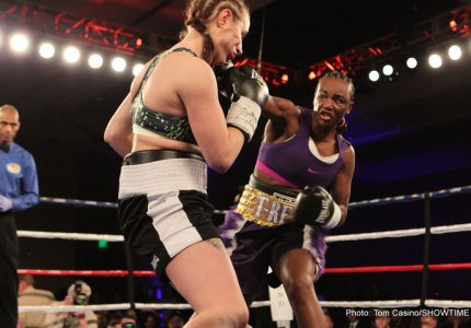 Results: Claressa Shields Knocks Out Szilvia Szabados