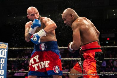 Amir Mansour Kermit Cintron Travis Kauffman Boxing News Boxing Results