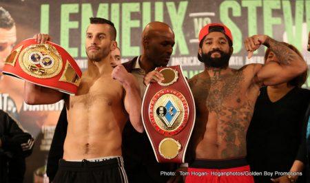 Curtis Stevens David Lemieux Boxing News Top Stories Boxing