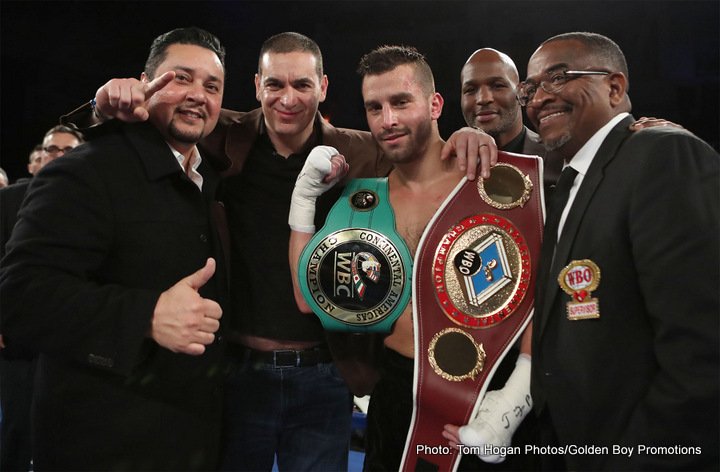 Curtis Stevens David Lemieux Boxing News Boxing Results
