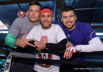 Vasyl Lomachenko-Mikey Garcia: A genuine Grudge-Match to look forward to!